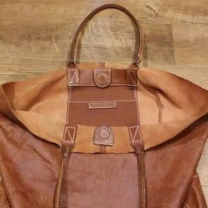 Banana Republic Bags - Leather Banana Republic Shopper